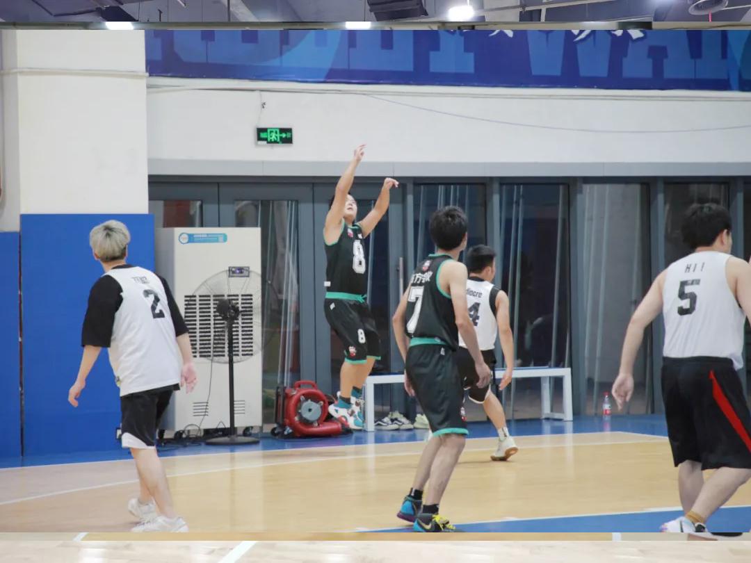 杭州市高新区(滨江)两新组织篮球联赛精彩瞬间