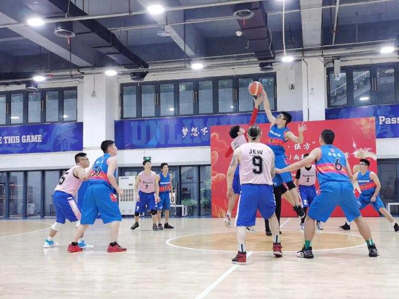 """""""康恩贝-伍方""""杯杭州市高新区(滨江)两新组织篮球联赛开幕"""
