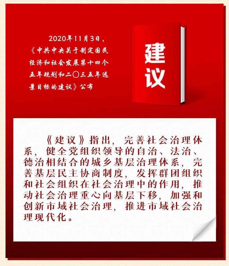 《中中央关于制定国民经济和社会发展第十四个五年规划和二�三五年远景目标的建议》