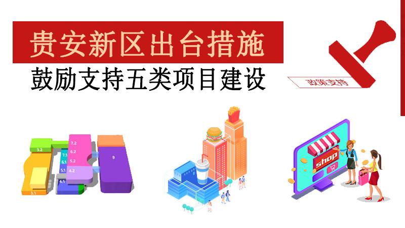 贵安新区支持商业贸易、会展服务、文化旅游、健康养生产业项目建设政策措施(试行)