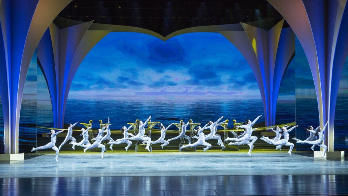 海河大学原创舞蹈《港珠澳大桥》