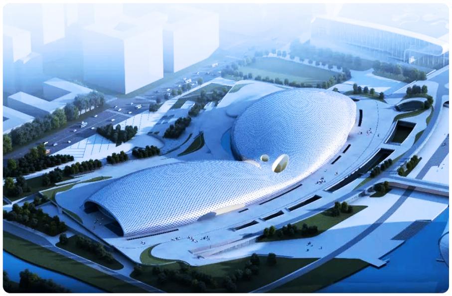 杭州奥体中心体育馆游泳馆