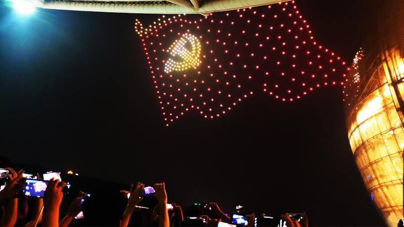 活动策划中的无人机编队表演灯光秀服务详解
