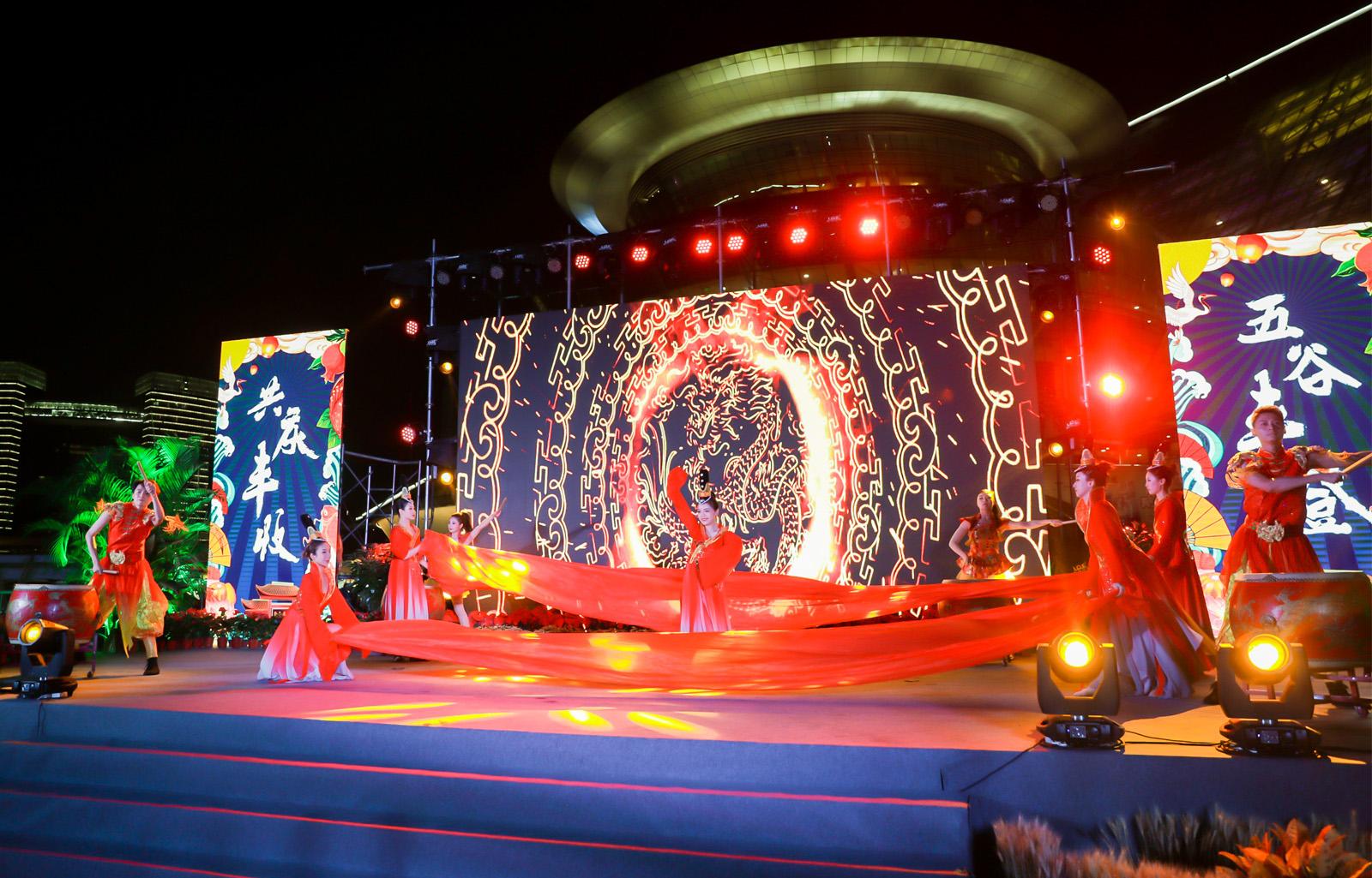 杭州美丽乡村丰收节鼓乐舞蹈
