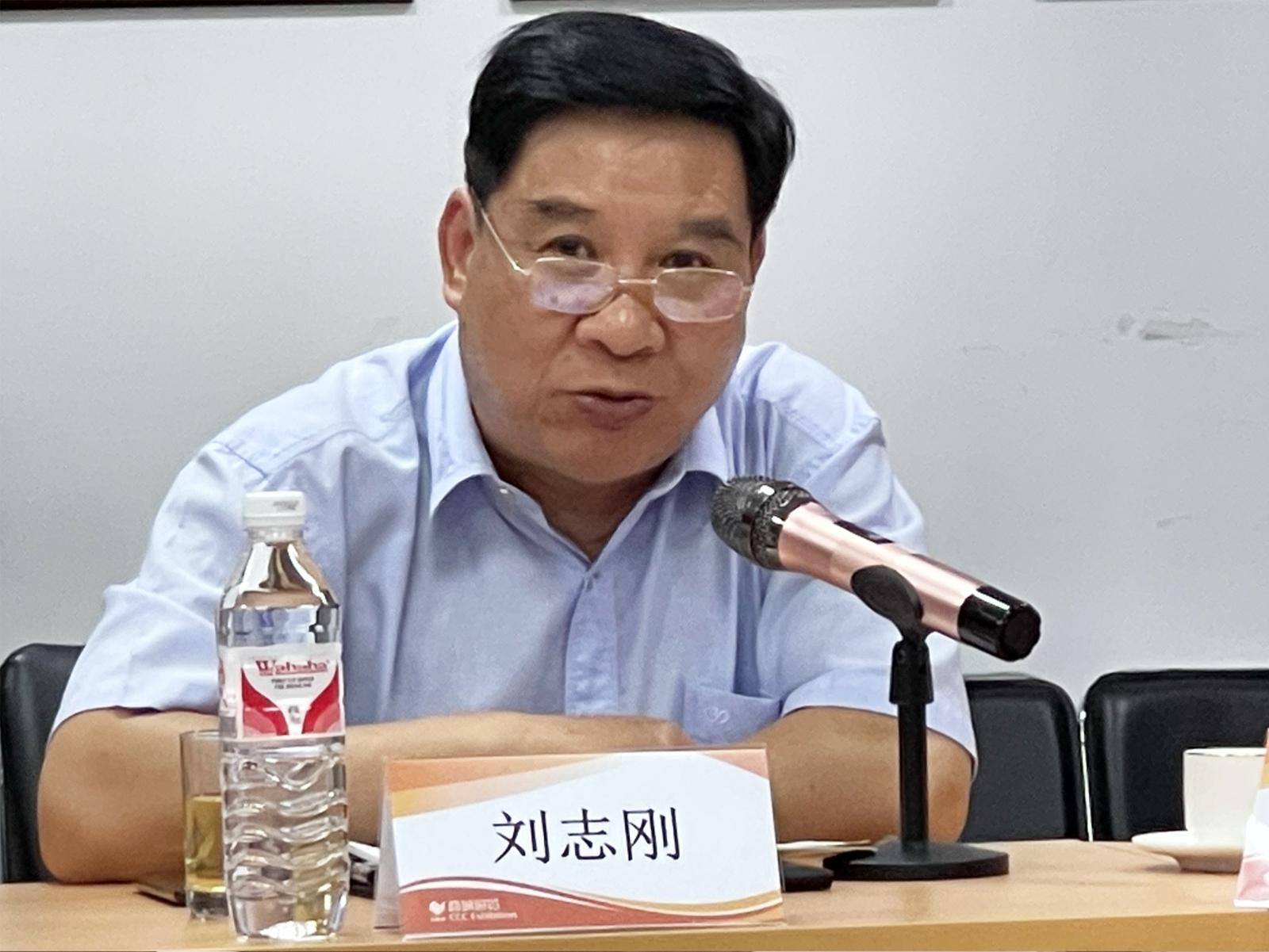 浙江省会展行业协会会长刘志刚发言